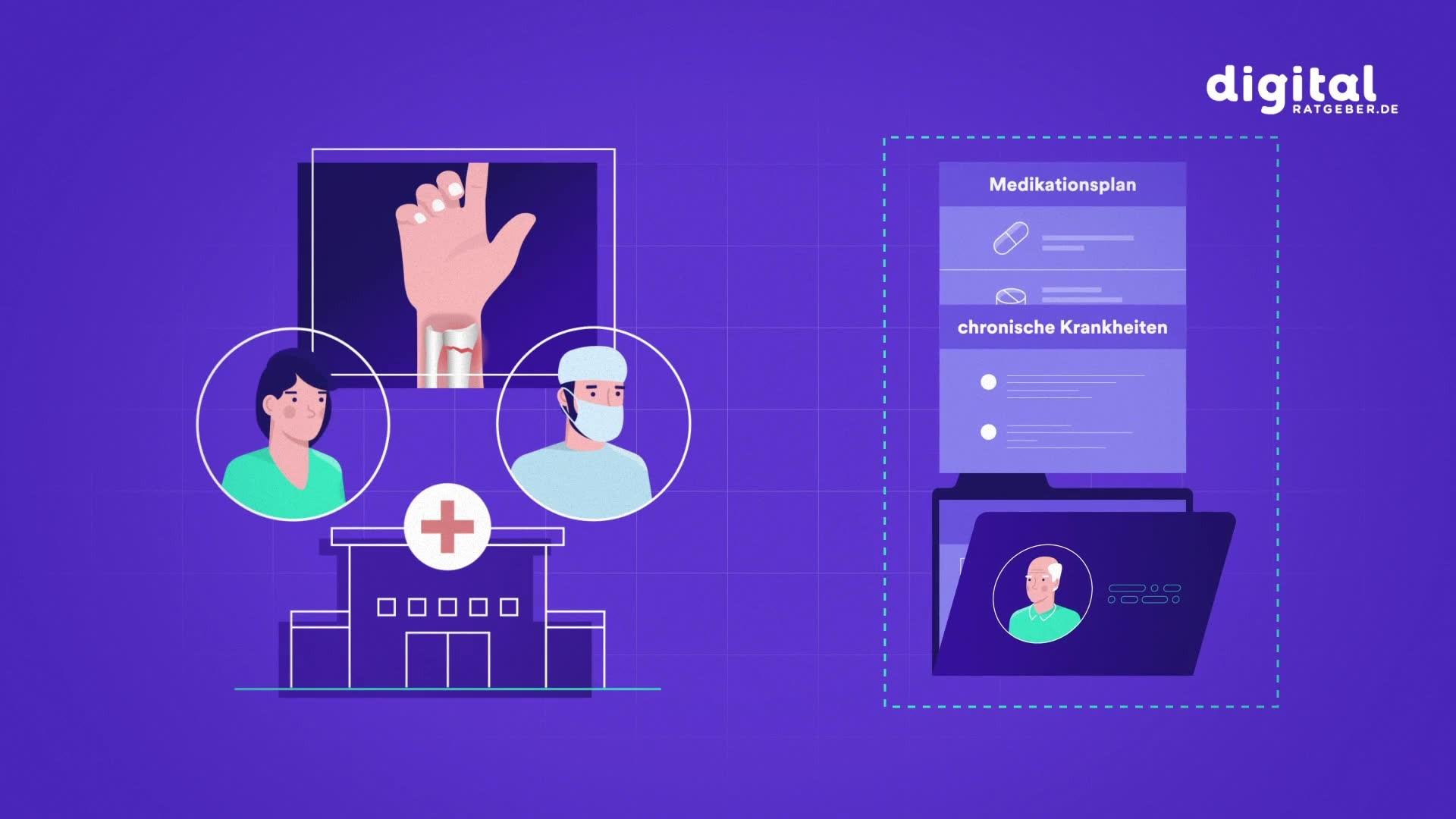 Die elektronische Patientenakte soll die ärztliche Behandlung erleichtern. Warum? Das erzählt dieses Fallbeispiel.